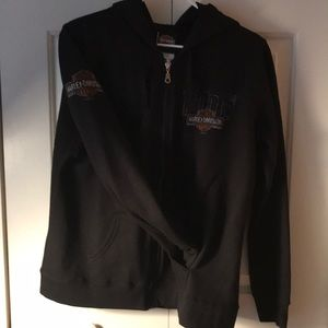 Ladies Harley Davidson hooded sweatshirt